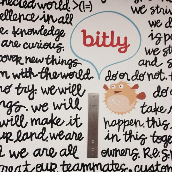Photo taken at Bitly HQ by Maria S. on 8/17/2014