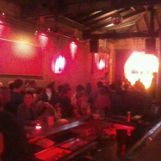 Photo taken at Lucky Lounge by Christina T. on 2/23/2013