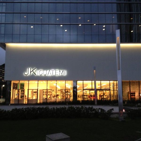 Photo taken at Shopping JK Iguatemi by Humberto M. on 7/8/2013