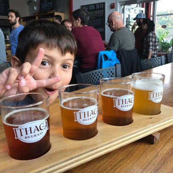 Photo taken at Ithaca Beer Co. Taproom by @njwineandbeer on 10/16/2016