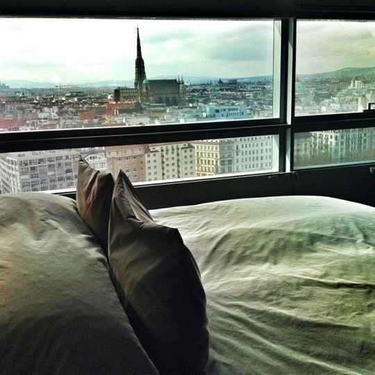 Photo taken at Sofitel Vienna Stephansdom by Marc V. on 2/21/2013