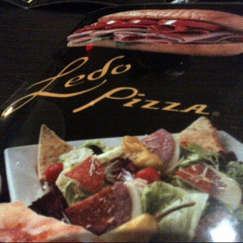 Photo taken at Ledo Pizza by Nico R. on 10/17/2012