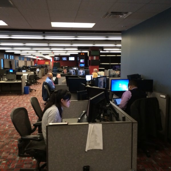 Photo taken at ESPN by Ryan B. on 2/28/2014