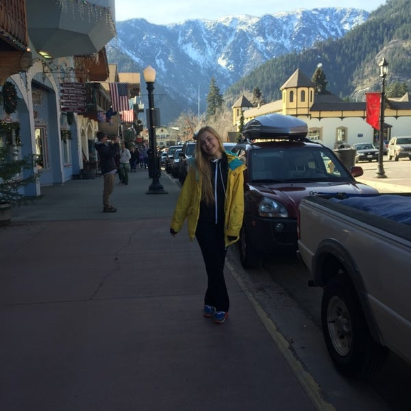 Photo taken at Town of Leavenworth by Аня В. on 2/16/2015