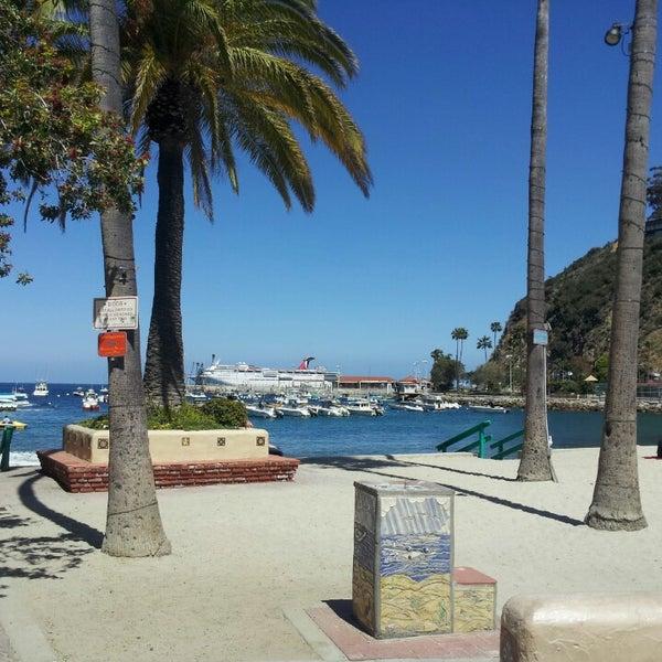 Photo taken at Santa Catalina Island by :-) Hyacinth P. on 4/16/2013