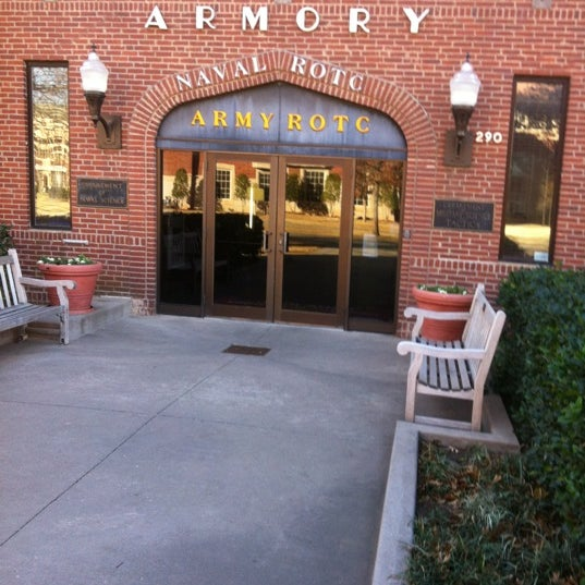 Photo taken at OU Armory | Army ROTC and Naval ROTC by Orlando C. on 12/21/2012