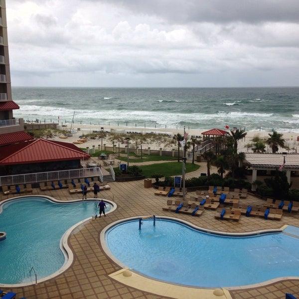 Photo taken at Hilton Pensacola Beach by Ron S. on 7/5/2013