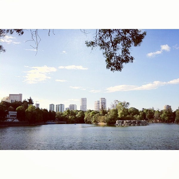 Photo taken at Bosque de Chapultepec by Robin G. on 3/3/2013