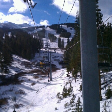 Photo taken at Breckenridge Ski Resort by Edward M. on 12/14/2012