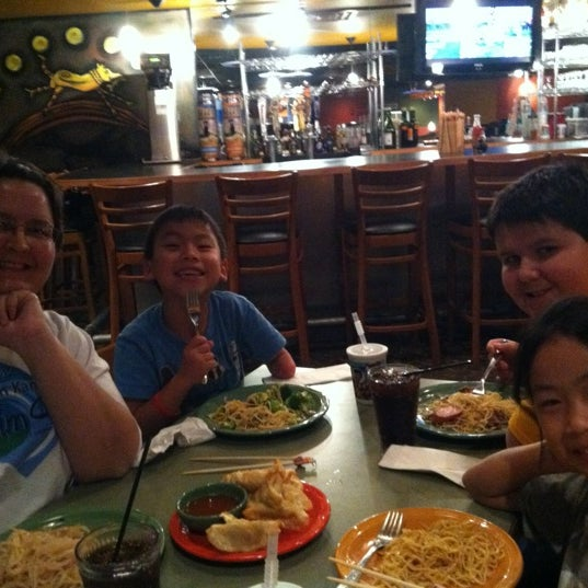 Photo taken at HuHot Mongolian Grill by Andy S. on 10/21/2012