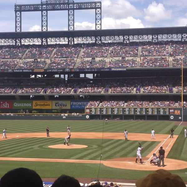 Photo taken at Coors Field by Kevin L. on 5/19/2013