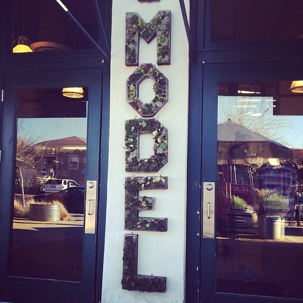 Photo taken at Model Bakery by Laura R. on 12/1/2013