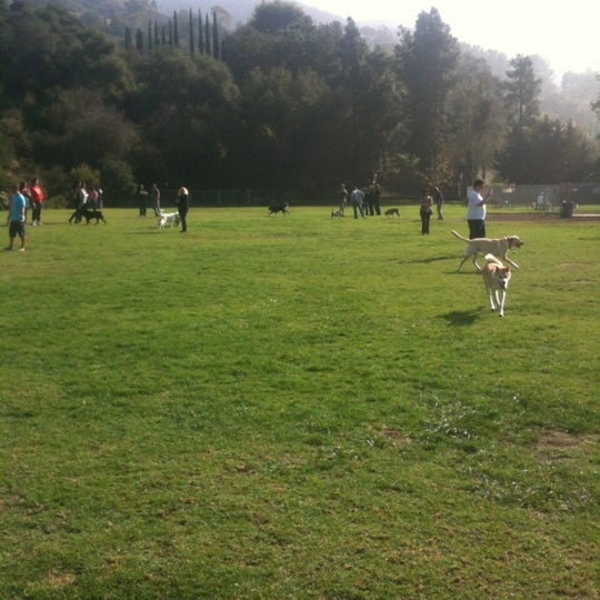 Photo taken at Laguna Canyon Dog Park by Don K. on 11/25/2012