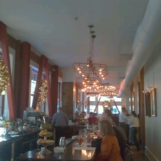 Photo taken at Town Hall Restaurant by Joseph A. on 12/13/2012