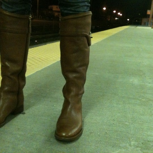 Photo taken at PATCO: Ashland Station by Garick G. on 12/10/2011