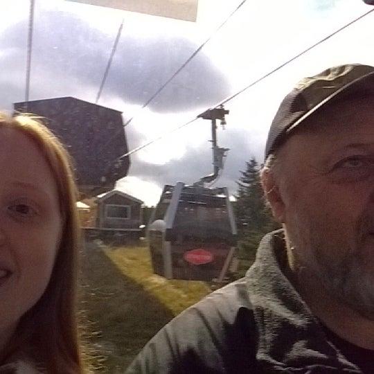 Photo taken at Stratton Summit Gondola by Ashley O. on 10/11/2014