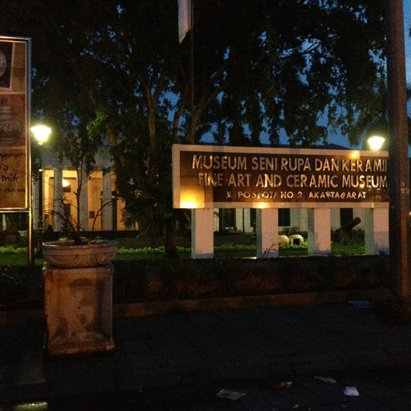 Photo taken at Museum Seni Rupa dan Keramik by Herry L. on 1/19/2015