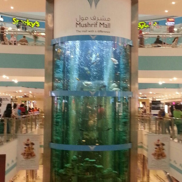 Photo taken at Mushrif Mall | مشرف مول by Fatima A. on 3/29/2013