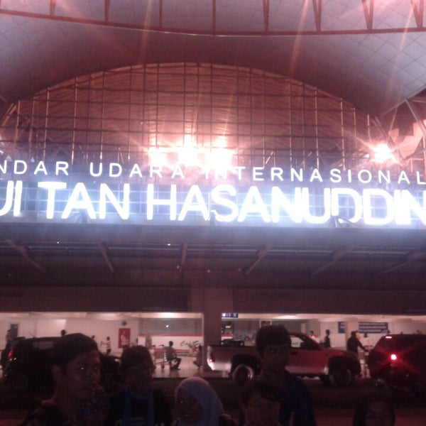 Photo taken at Sultan Hasanuddin International Airport (UPG) by Inul K. on 6/25/2013