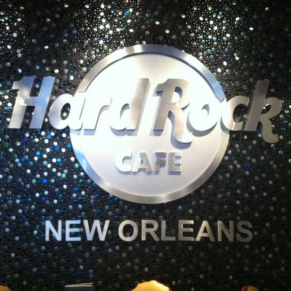 New Orleans Hard Rock Cafe Menu