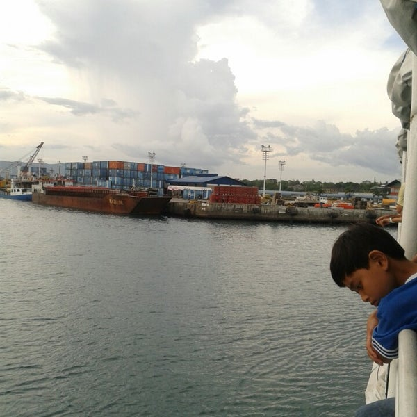 Photo taken at Tagbilaran City Bohol Port by Floyd A. on 5/9/2013