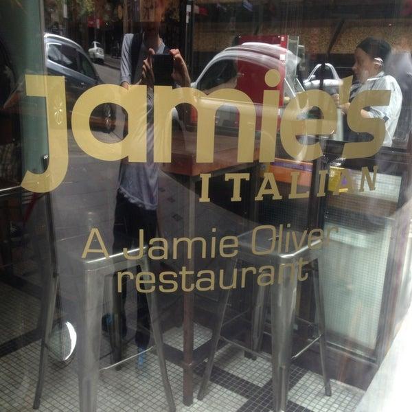 Photo taken at Jamie's Italian by Yulianto Oen Wheatley &. on 1/26/2013
