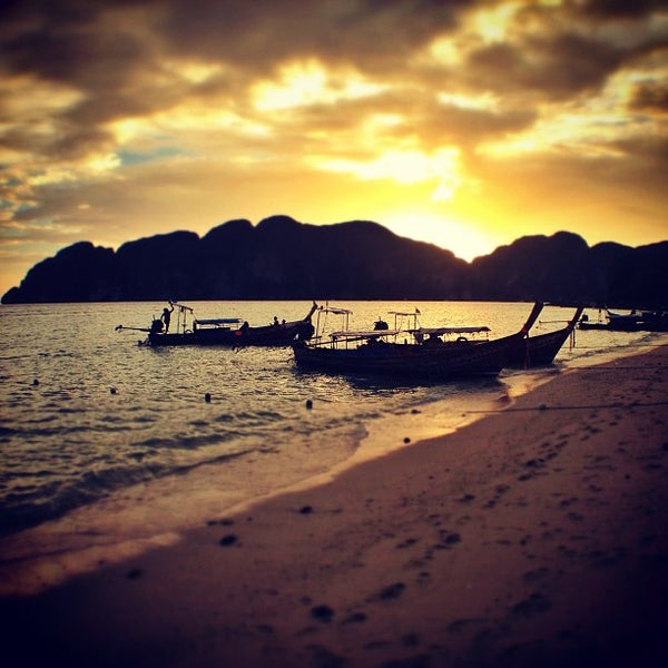 Photo taken at Phi Phi Island by Dmitry on 3/16/2013