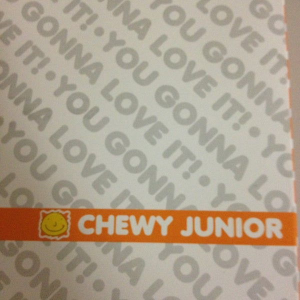 Photo taken at Chewy Junior by Cherrie ann R. on 5/31/2013
