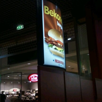 Photo taken at Hesburger Alfa by Егор Л. on 11/22/2012