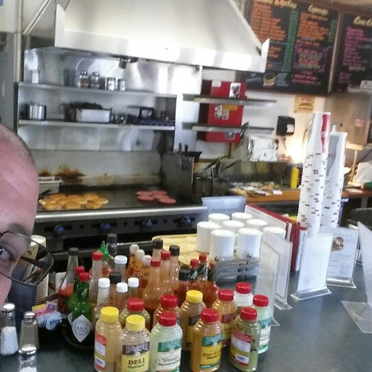 Photo taken at Great American Hamburger & Pie Co by Sam M. on 6/30/2014