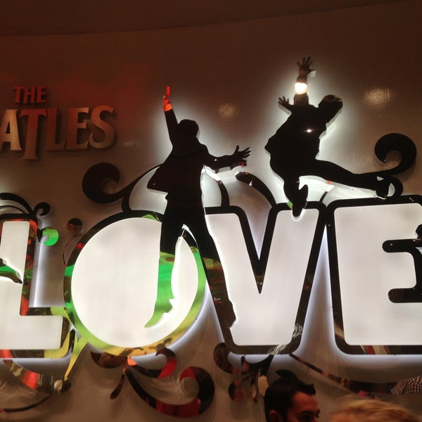Photo taken at The Beatles LOVE (Cirque Du Soleil) by Харисович I. on 4/20/2013