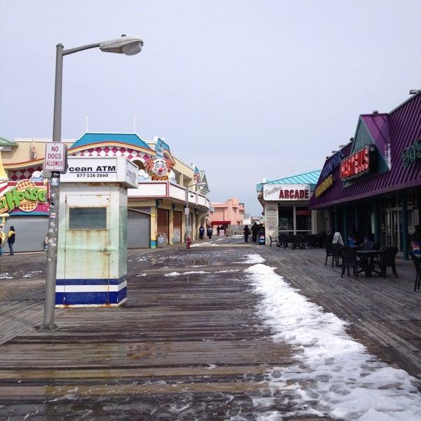 Photo taken at Point Pleasant Beach Boardwalk by Amanda on 3/17/2013