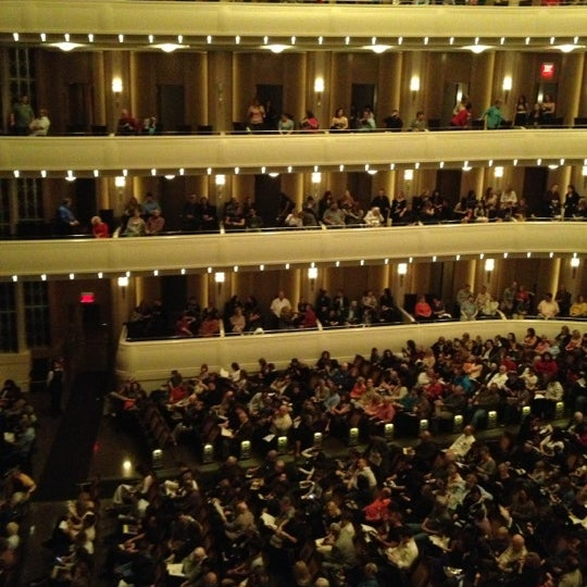 Photo taken at The Smith Center for the Performing Arts by Moon on 11/25/2012