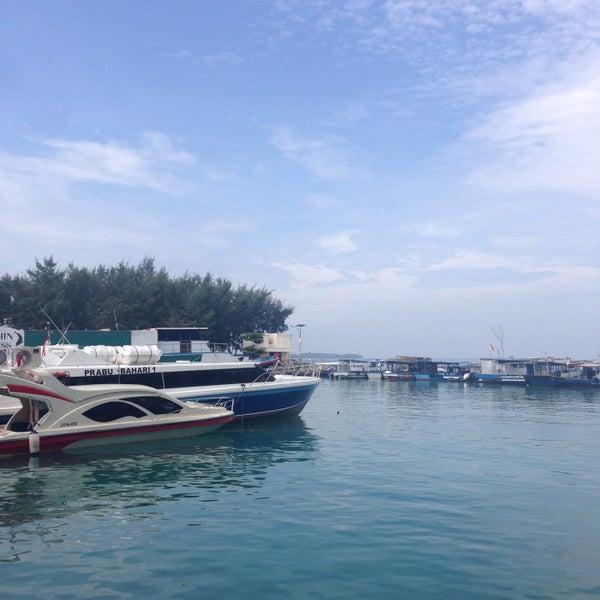 Photo taken at Pulau Pramuka by Ayi M. on 11/9/2016