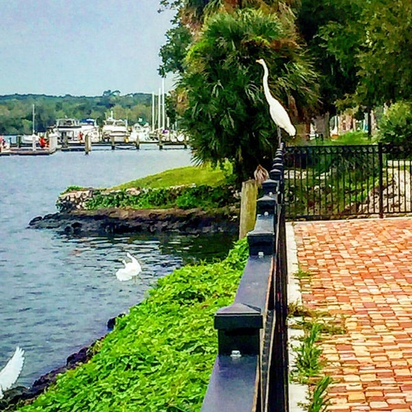 Photo taken at Palatka Riverfront by Regina K. on 9/6/2015