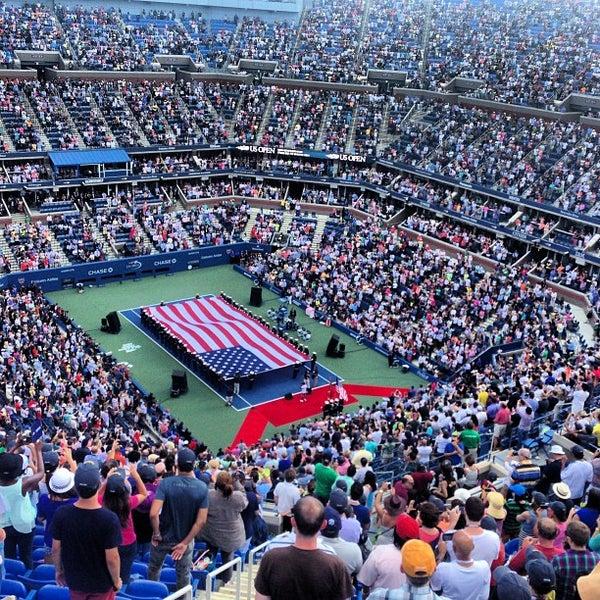 Photo taken at US Open Tennis Championships by David B. on 9/8/2013
