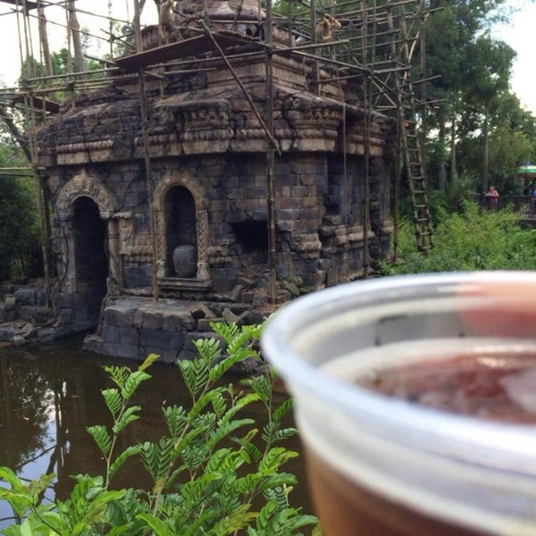 Photo taken at Maharajah Jungle Trek by Topher A. on 7/12/2014