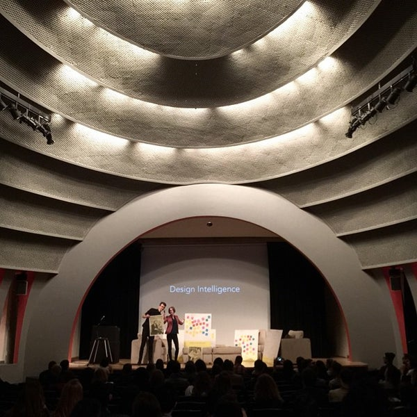 Photo taken at The New School Auditorium at 66W 12th by Gokce G. on 4/25/2015