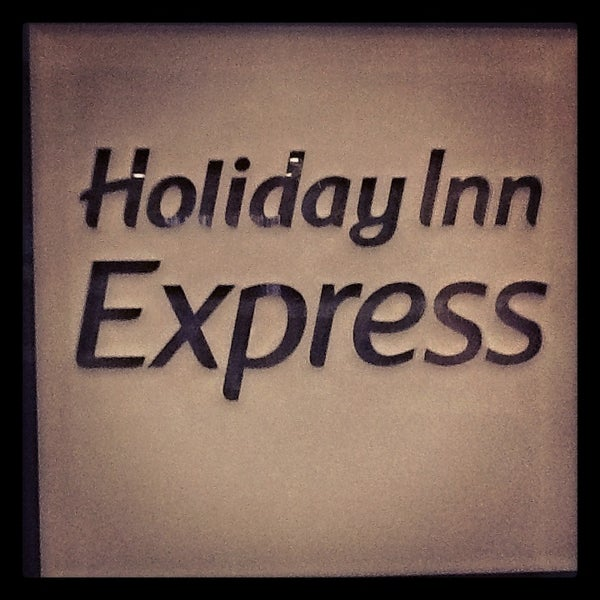 Photo taken at Holiday Inn Express by Stacey B. on 12/19/2012