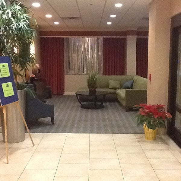 Photo taken at Holiday Inn Express by Stacey B. on 1/1/2013