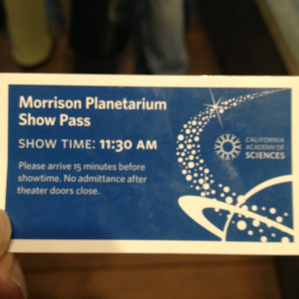 Photo taken at Morrison Planetarium by Michael Y. on 6/2/2013