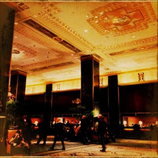 Photo taken at Waldorf Astoria New York by Deniz K. on 1/19/2013