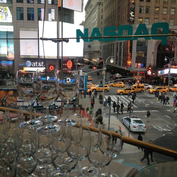 Photo taken at Nasdaq Marketsite by Kieran F. on 3/21/2013