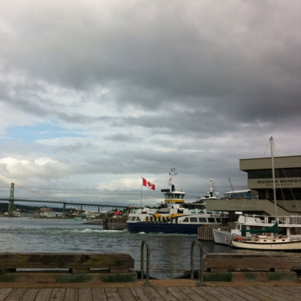 Photo taken at Alderney Landing by Claire L. on 8/9/2013