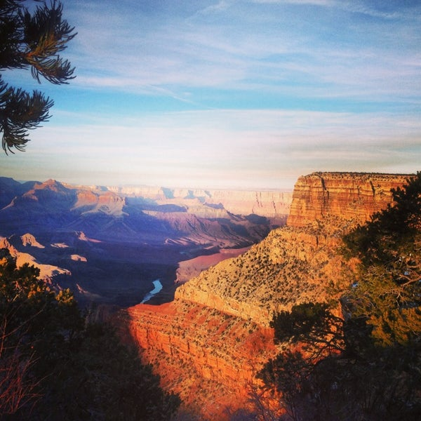 Photo taken at Grand Canyon National Park by Maria F. on 1/10/2013