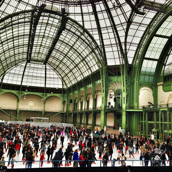 Photo taken at Grand Palais by Loic L. on 12/23/2012