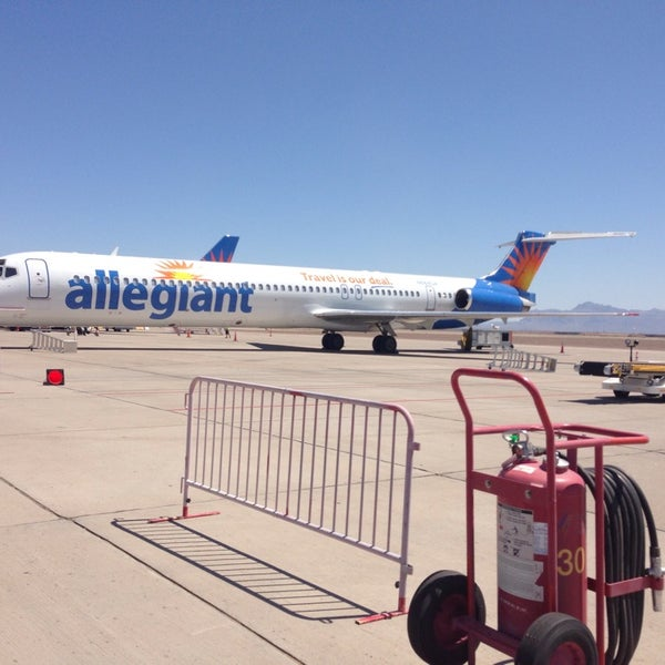 Photo taken at Phoenix-Mesa Gateway Airport (AZA) by Jessica V. on 5/20/2013
