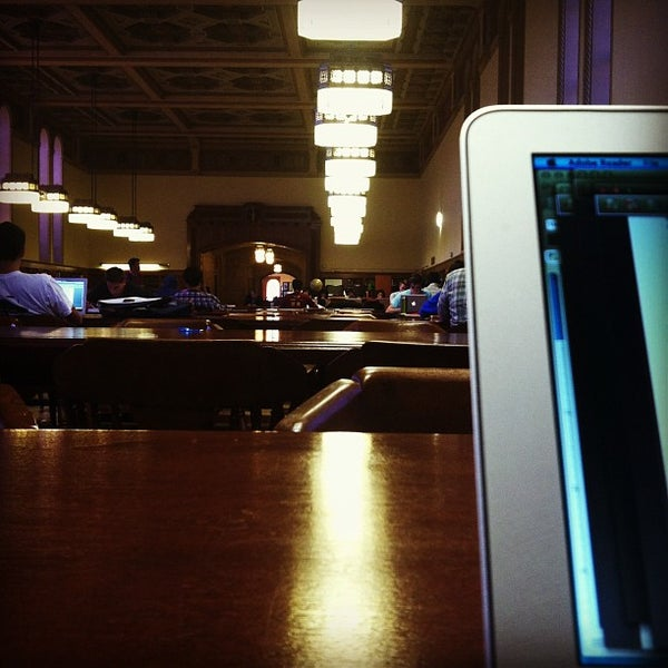 Photo taken at Doheny Memorial Library (DML) by Marco R. on 4/24/2013