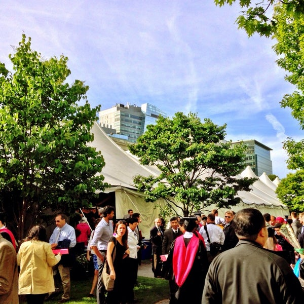 Photo taken at Harvard Medical School Quadrangle by Brad K. on 5/29/2014