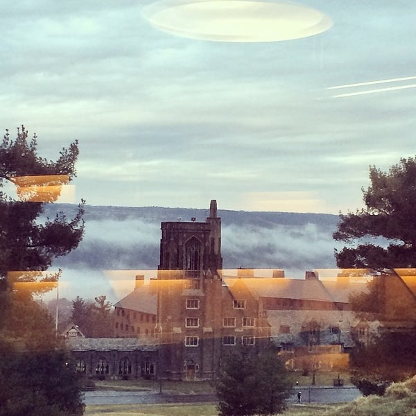 Photo taken at Uris Library by Daniel G. on 4/11/2014
